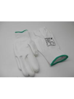 Werkhandschoenen wit PSP maat M